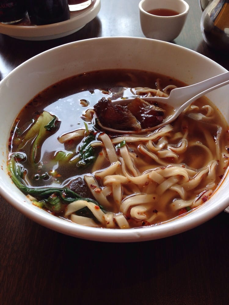 This place is very authentic! I love the beef noodle the ...