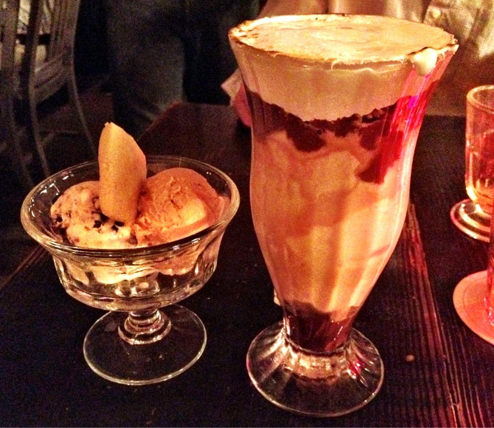 Woodberry Kitchen Reservations: CMP With Mint Chocolate Chip And Malt Ice Cream