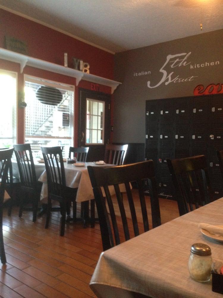 Good decor and comfortable yelp for Italian street kitchen
