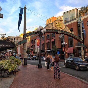 Elegant Photo Of Gaslamp Quarter   San Diego, CA, United States