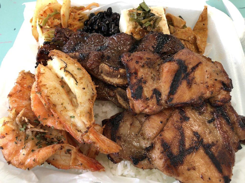 Da Q Korean BBQ: 54-295 Kamehameha Hwy, Hauula, HI