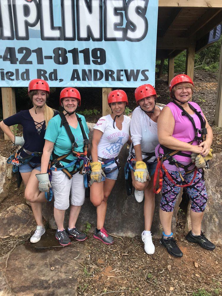 RidgeRunner Ziplines: 750 Wakefield Rd, Andrews, NC