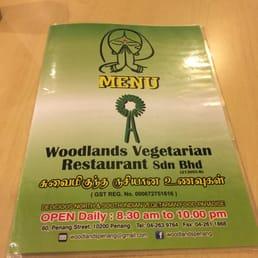Woodlands Vegetarian Restaurant George Town Penang Malaysia