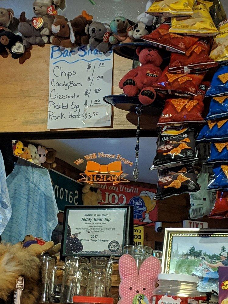 T&w Teddy Bear Tap: W5304 Ripley Rd, Sarona, WI
