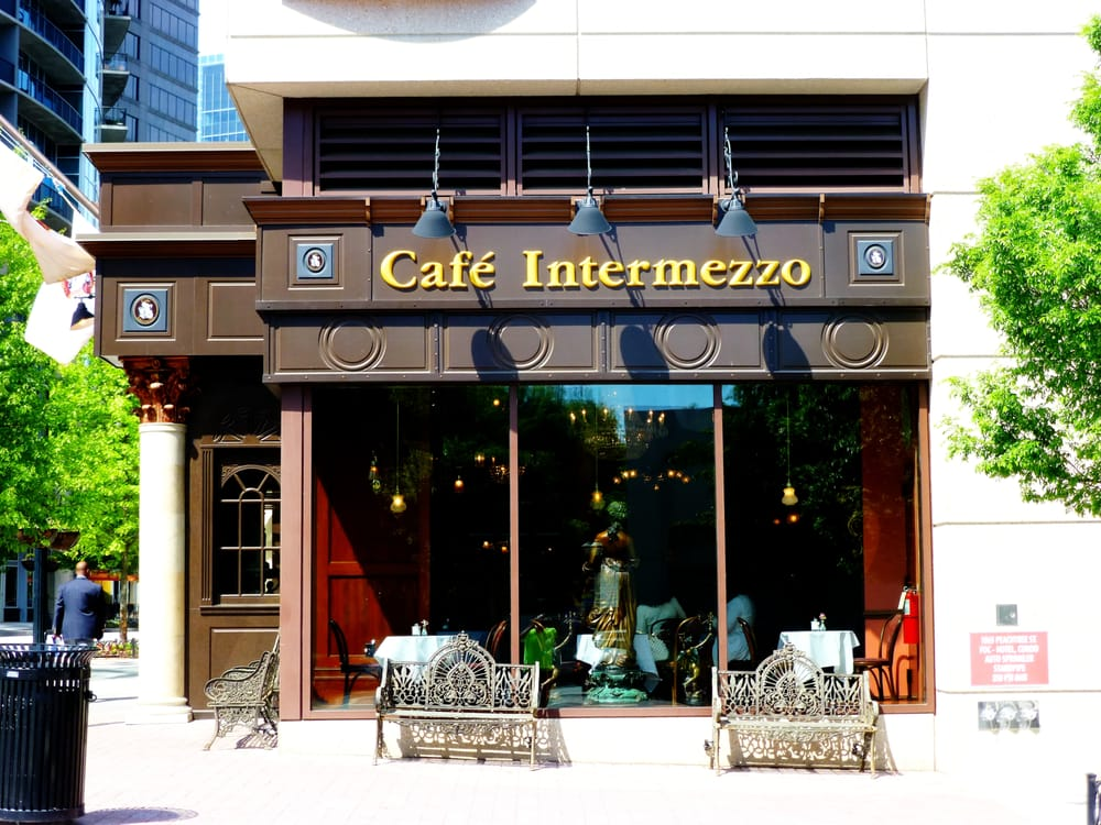 Cafe Intermezzo: 1065 Peachtree St NE, Atlanta, GA