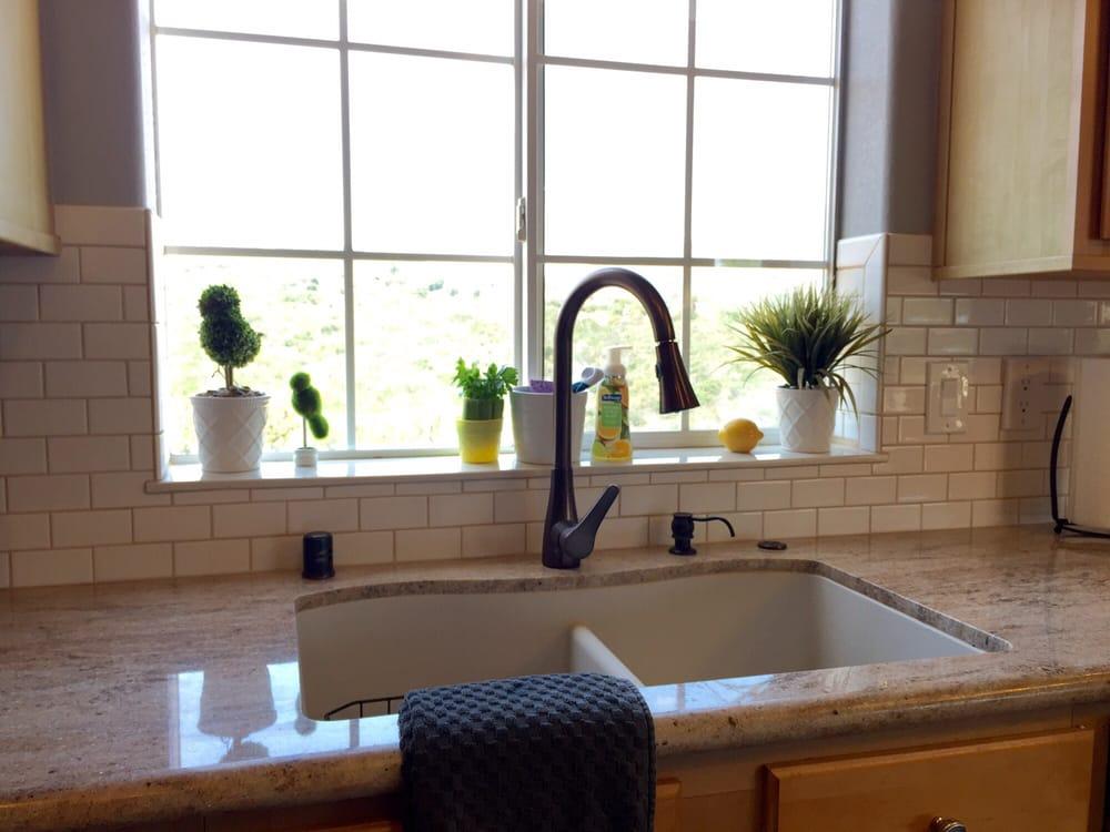 Kitchen Window Sill Tile Ideas