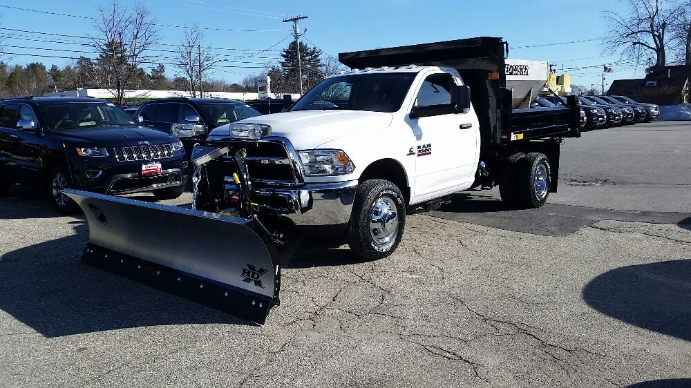 2016 ram 3500 with a new fisher plow installed right here at bodwells yelp. Black Bedroom Furniture Sets. Home Design Ideas