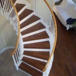 Photo Of Garciau0027s Flooring   Orange, CA, United States. Custom Flush Stair  Casing