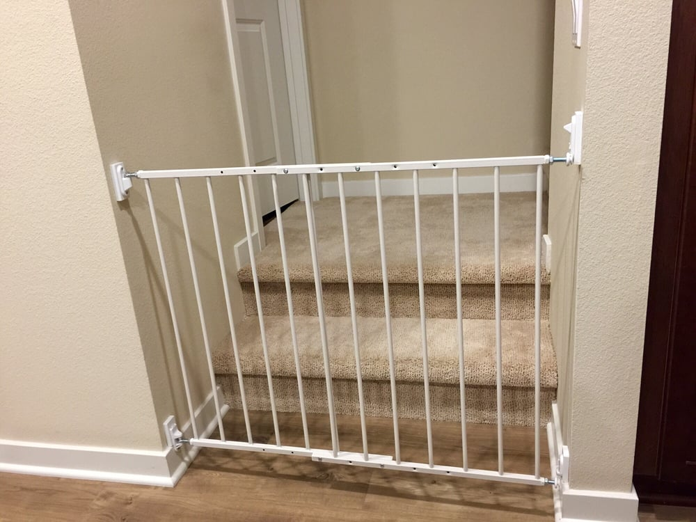 Our Child Proof Gate Installed By Jeff Matched Our