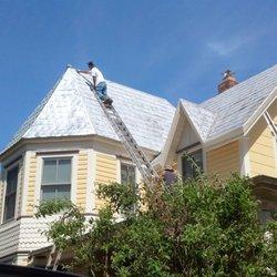 Photo Of Britts Roofing   Alexandria, VA, United States. Tin Roof  Maintenance