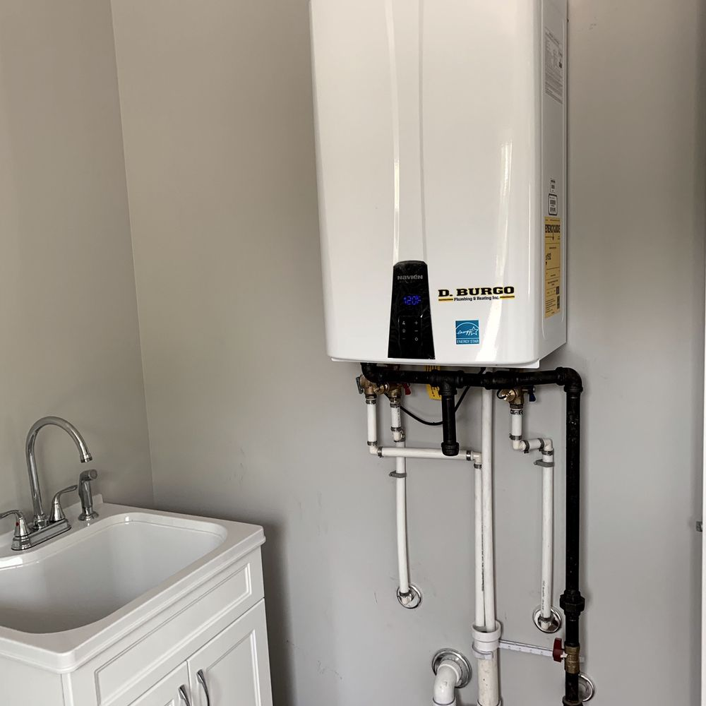 D Burgo Plumbing & Heating: 1026 Haddon Ave, Collingswood, NJ