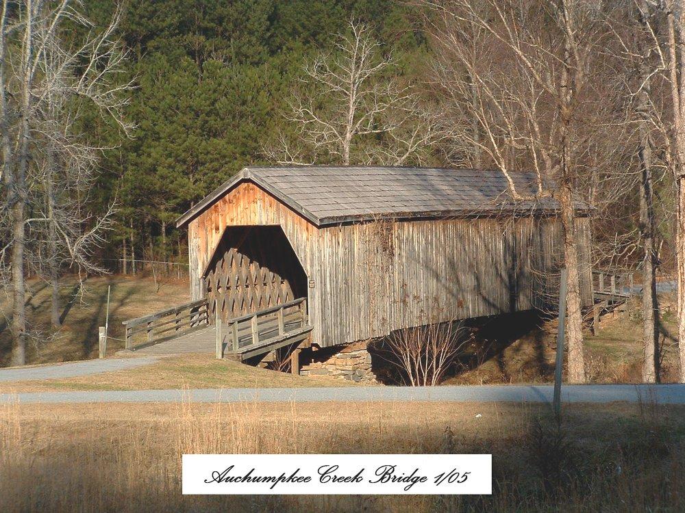 Auchumpkee Creek Covered Bridge: Allen Rd, Upson, GA