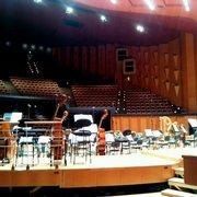 Auditorium de l'Orchestre National de Lyon - Lyon, France. Vue exceptionnelle depuis la scène !