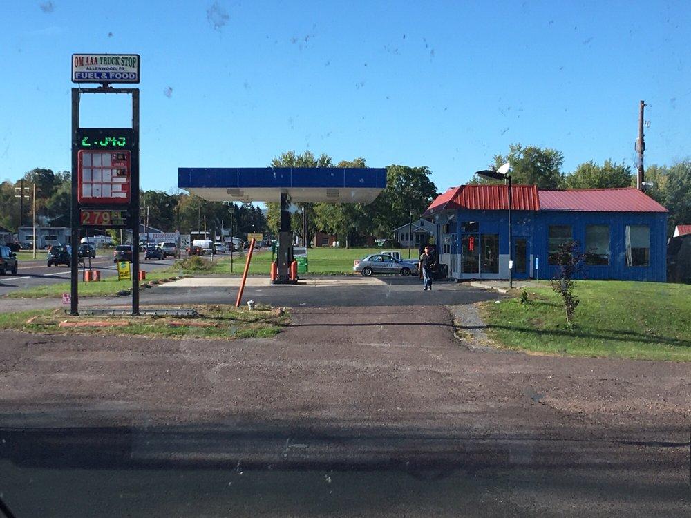 Om AAA Truck Stop: Allenwood, PA