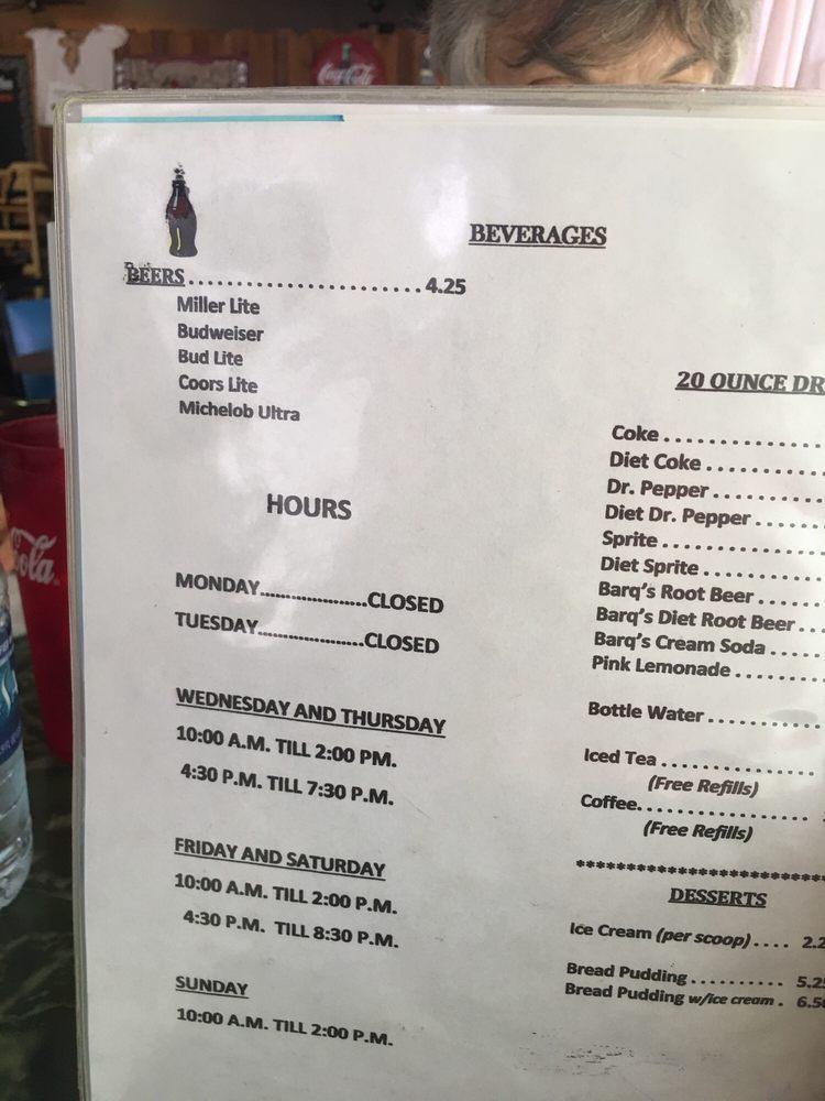 Boudreaux's Restaurant: 507 Hwy 20, Thibodaux, LA