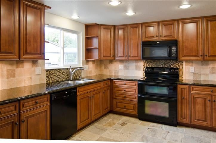 kitchen tile under cabinets new cabinets marble and glass mosaic tile backsplash 22071
