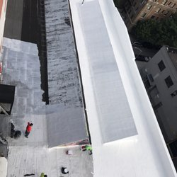 Photo Of Verrazano Roofing   Brooklyn, NY, United States. Liquid Silicone  Roof System