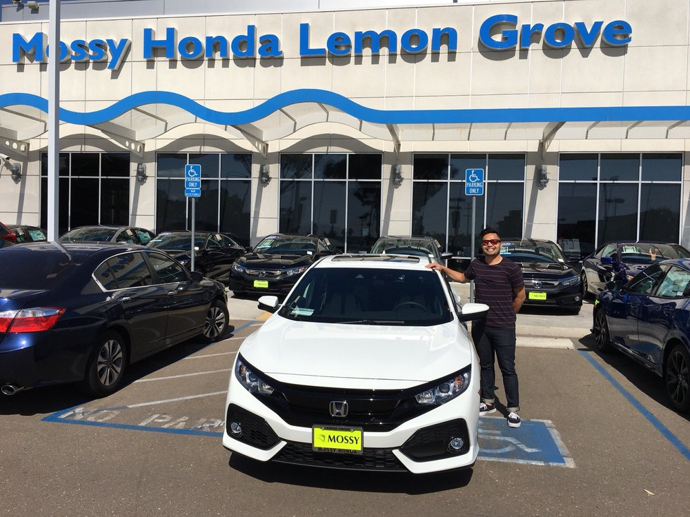 My New 2017 Honda Civic Hatchback Ex Thanks Mossy Team