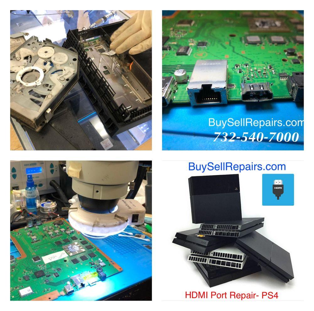 PS4 - HDMI port repair - Yelp