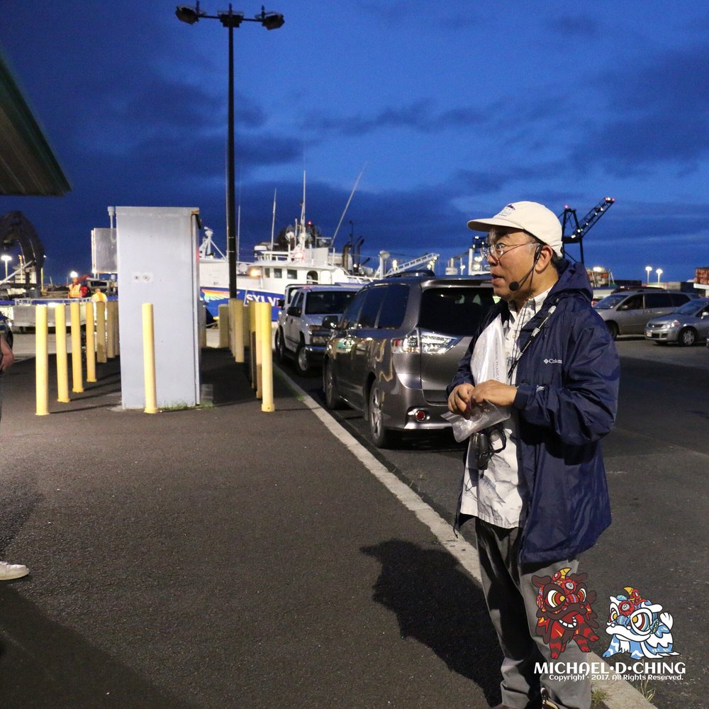 John kaneko of the hawaii seafood council leading the for United fishing agency