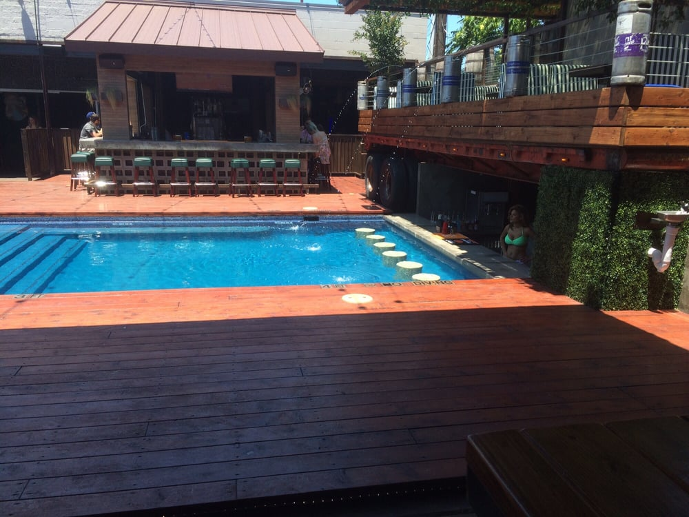 Wonderful Photo Of The Whiskey Garden   Fort Worth, TX, United States. Poolside Bar
