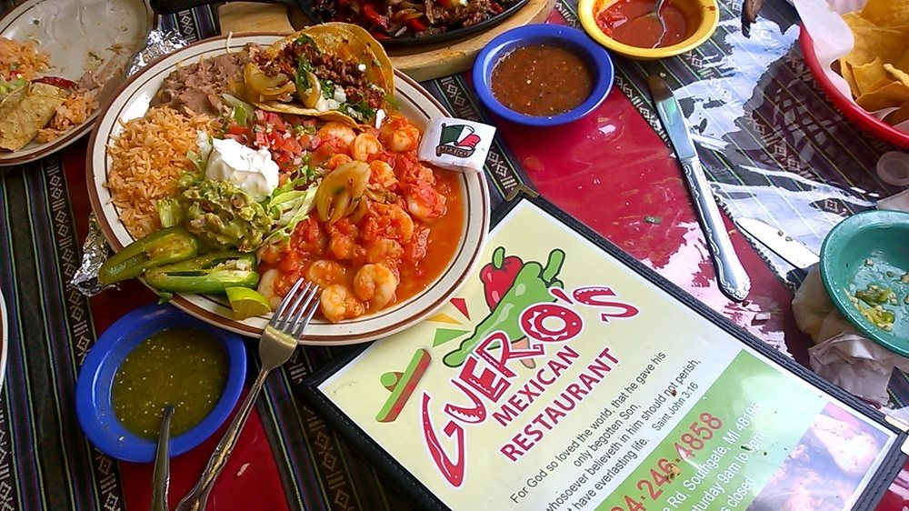 Guero's Mexican Food: 13635 Northline Rd, Southgate, MI