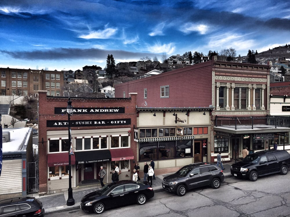 You haven 39 t enjoyed park city till you have sat on the - No name saloon and grill park city ut ...