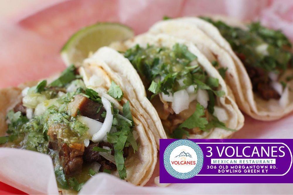 Los 3 Volcanes Restaurant: 306 Old Morgantown Rd, Bowling Green, KY