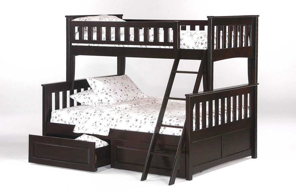 Our solid hardwood bunk beds have a 10 year warranty and for Affordable furniture and mattress
