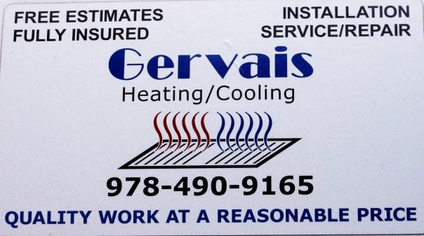 Gervais Heating & Air Conditioning: Andover, MA