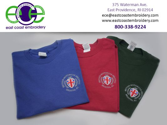 East Coast Embroidery 375 Waterman Ave East Providence Ri General