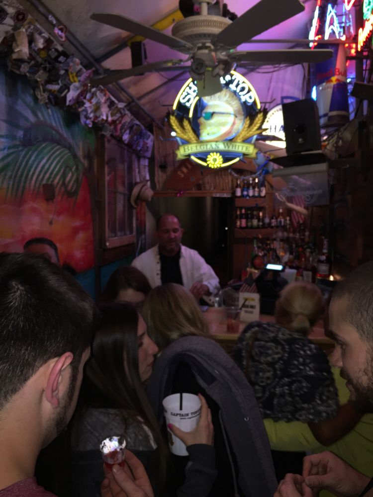 Smallest Bar: 124 Duval St, Key West, FL