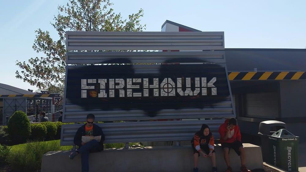 Firehawk: 6300 Kings Island Dr, Kings Mills, OH