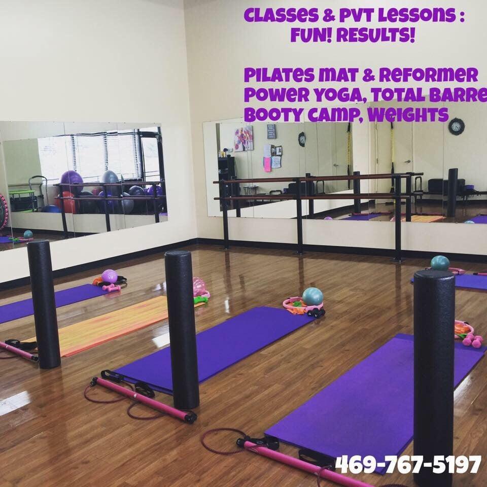 Pilates Based Classes Including Total Barre , Mat Pilates