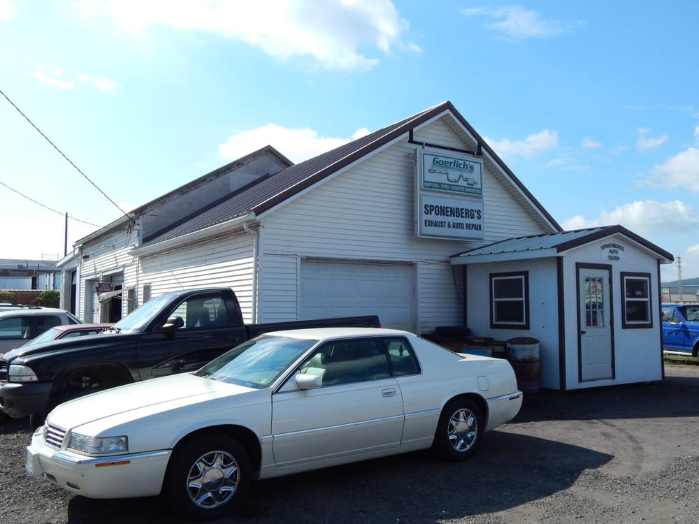 Sponenberg Exhaust: 305 W 9th St, Berwick, PA