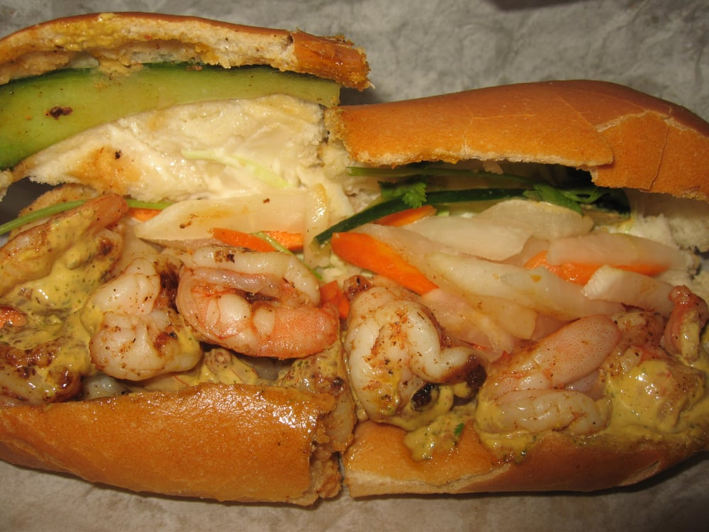 ... Food Truck - San Jose, CA, United States. Grilled shrimp banh mi