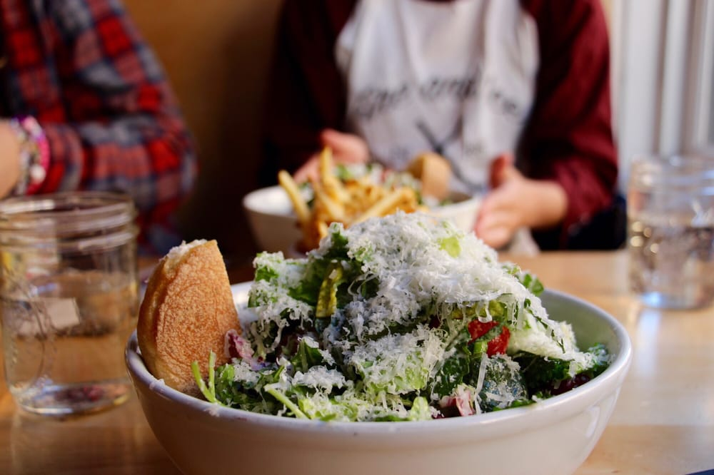 Photo of Blue Barn Gourmet - San Francisco, CA, United States. Kale Caesar Salad
