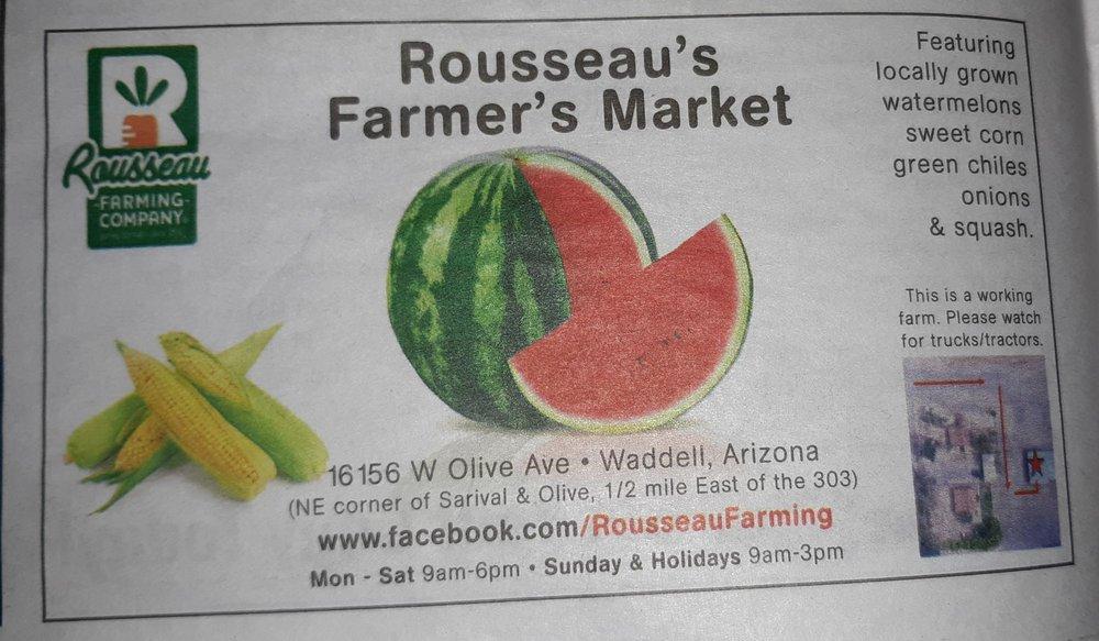 Rousseau Farming: 16156 W Olive Ave, Waddell, AZ