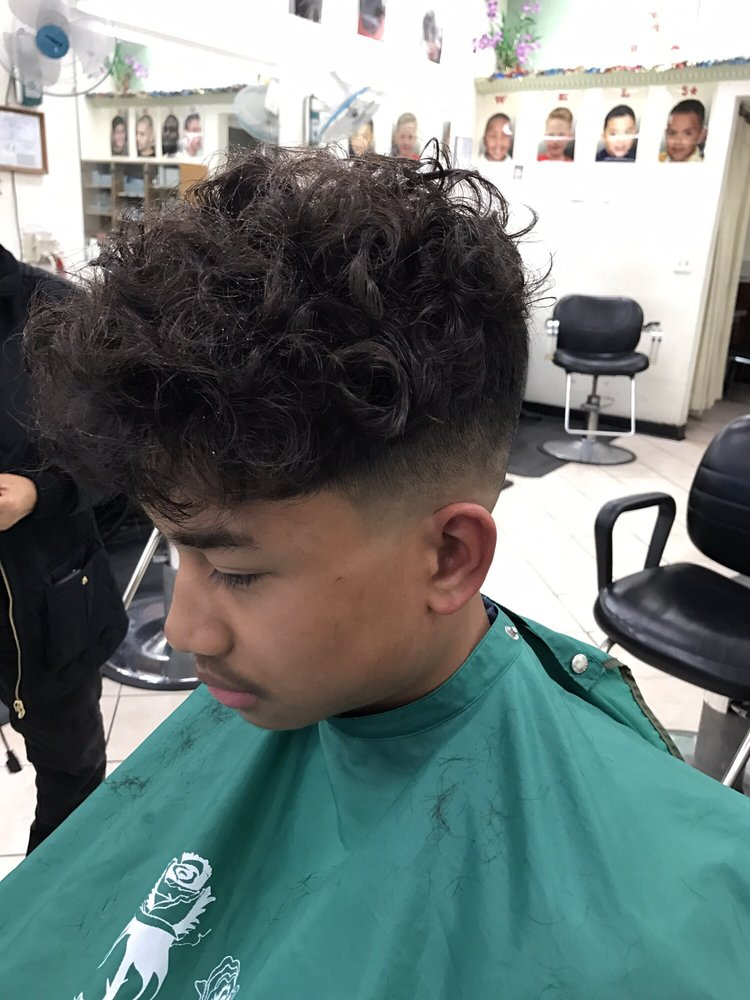 Skin Fade Perm Hairstyle Male Pictures1 Www Picturesboss Com
