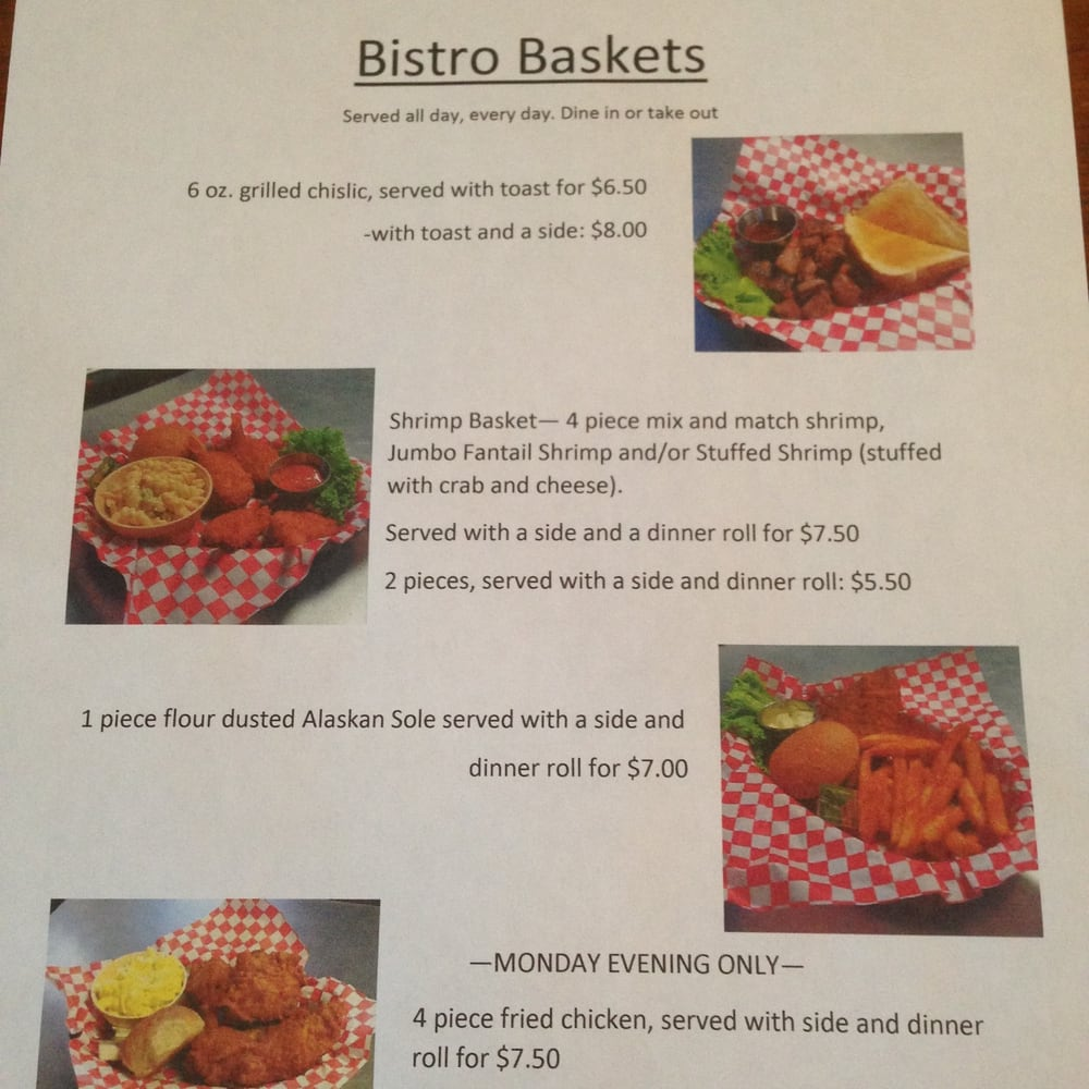 Heathers Bistro and More: 121 1st Ave E, Clark, SD