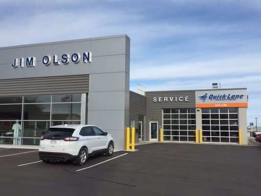 jim olson ford lincoln get quote auto repair 440 s. Black Bedroom Furniture Sets. Home Design Ideas