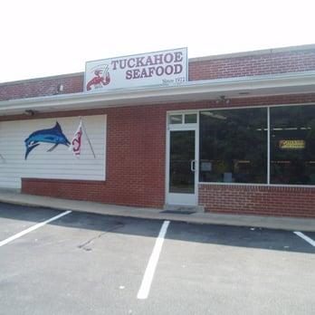 Tuckahoe seafood 33 photos seafood markets 1007 for Fish market richmond va
