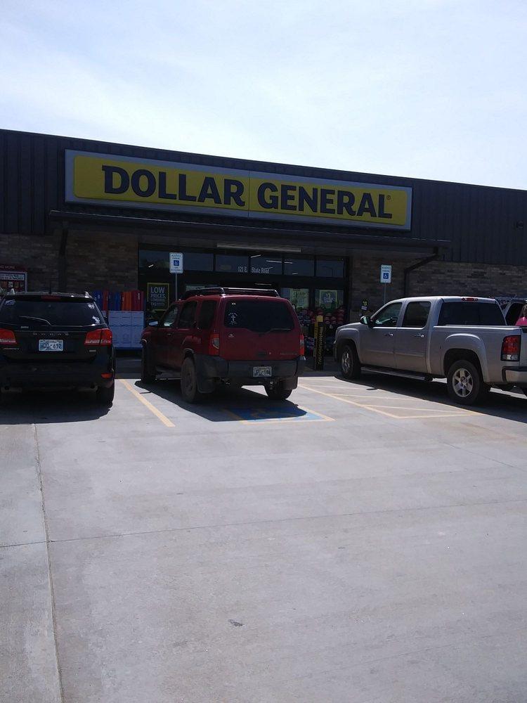 Dollar General: 115 S Main St, Fairview, OK