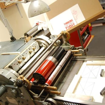 Steam Whistle Letterpress - Printing Services - 1024 Saratoga St