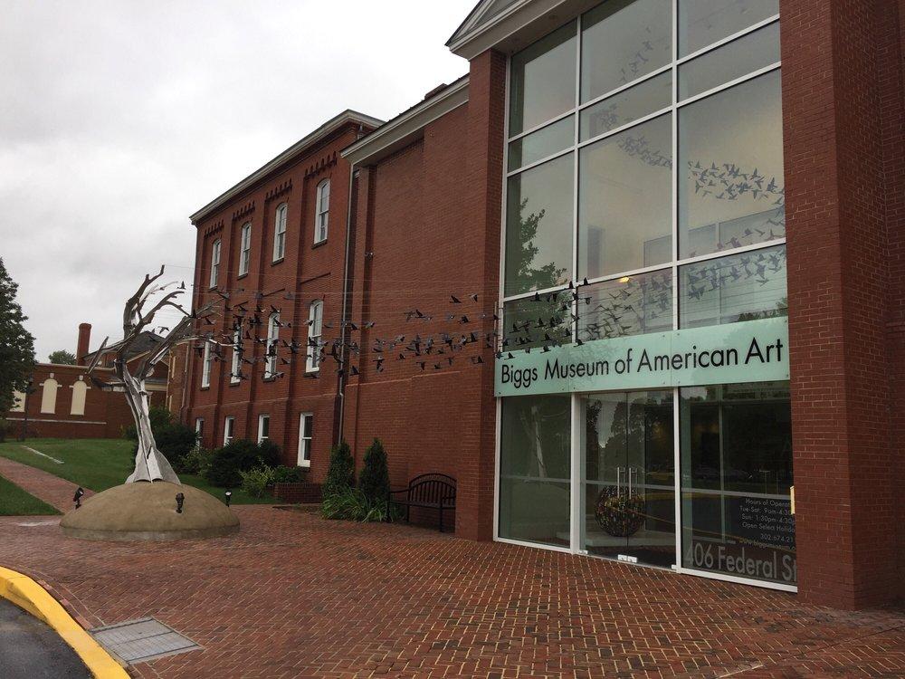 Social Spots from Biggs Museum Of American Art