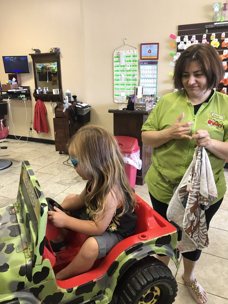 My 3 Year Old Sons First Haircut Yelp