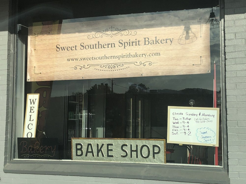 Food from Sweet Southern Spirit Bakery