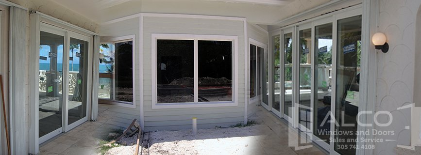We Specialize In The Installation Of Impact Windows And