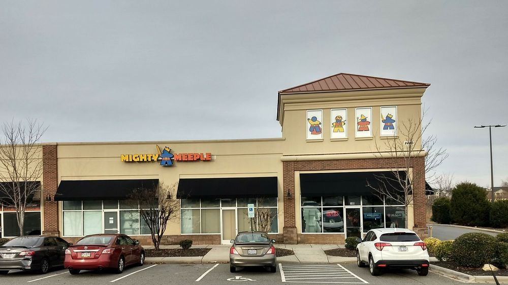 Mighty Meeple: 8440 Pit Stop Ct NW, Concord, NC