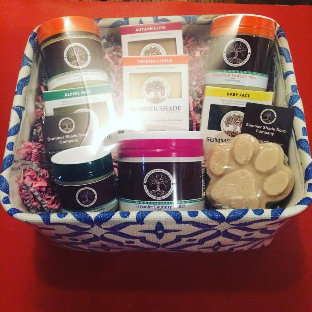 For custom gift baskets contact us at infosummershadesoap yelp photo of summer shade holistic apothecary louisville ky united states for custom negle Choice Image